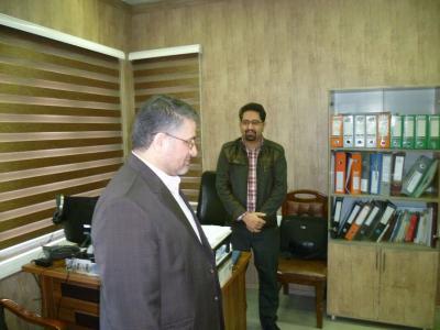 بازدید دکتر مسجدی از پزشکی قانونی استان البرز